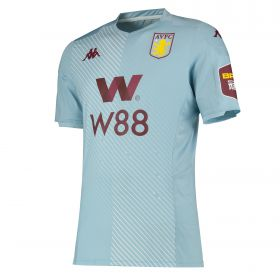 Aston Villa Away Elite Fit Shirt 2019-20 with Samatta 20 printing