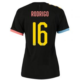 Manchester City Authentic Cup Away Shirt 2019-20 - Womens with Rodrigo 16 printing