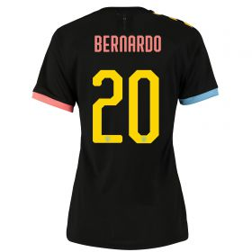 Manchester City Cup Authentic Away Shirt 2019-20 - Womens with Bernardo 20 printing