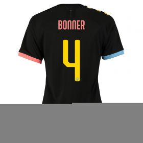 Manchester City Cup Authentic Away Shirt 2019-20 - Womens with Bonner 4 printing