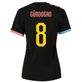 Manchester City Cup Authentic Away Shirt 2019-20 - Womens with Gündogan 8 printing