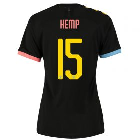 Manchester City Cup Authentic Away Shirt 2019-20 - Womens with Hemp 15 printing