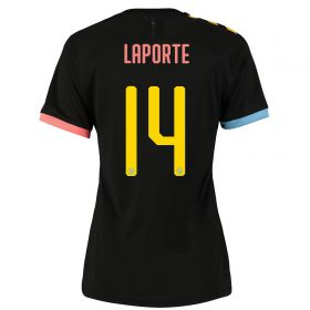 Manchester City Cup Authentic Away Shirt 2019-20 - Womens with Laporte 14 printing