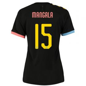 Manchester City Cup Authentic Away Shirt 2019-20 - Womens with Mangala 15 printing