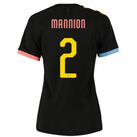 Manchester City Cup Authentic Away Shirt 2019-20 - Womens with Mannion 2 printing