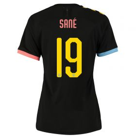Manchester City Cup Authentic Away Shirt 2019-20 - Womens with Sané 19 printing