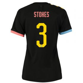 Manchester City Cup Authentic Away Shirt 2019-20 - Womens with Stokes 3 printing