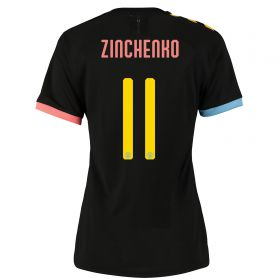 Manchester City Cup Authentic Away Shirt 2019-20 - Womens with Zinchenko 11 printing