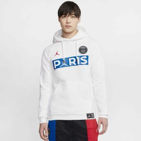 Paris Saint-Germain x Jordan Jumpman Fleece Pullover - Mens