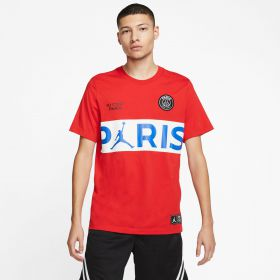 Paris Saint-Germain x Jordan Wordmark T-Shirt - Mens