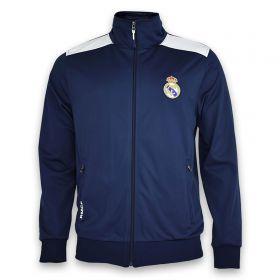 Real Madrid Training Full Zip Jacket - Navy - Mens