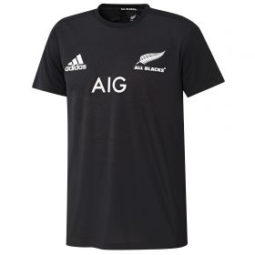 All Blacks Performance T-Shirt - Black - Mens