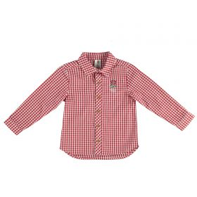 England Check Shirt - White/Red - Infant