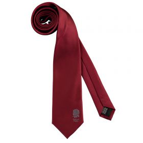 England Core Tie - Poly - Red