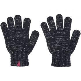 England Glove - Navy/Silver/Fuschia - Womens