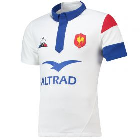 France Alternate Replica Jersey - Optical White - Mens