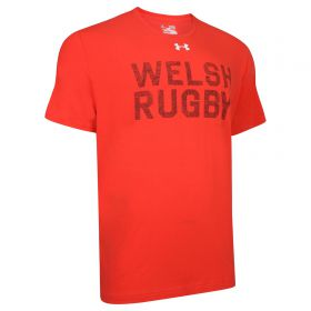 Welsh Rugby Graphic T-Shirt - Red - Junior