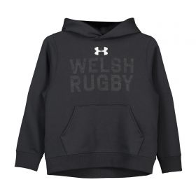 Welsh Rugby Hoodie - Anthracite - Junior