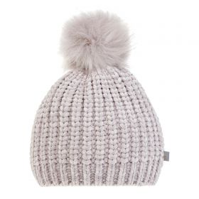 Welsh Rugby Super Soft Beanie - Grey - Womens