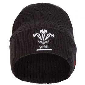 Welsh Rugby Truck Stop Beanie - Black