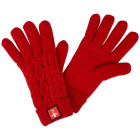 Welsh Rugby Vent Glove - Red - Adult