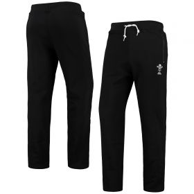 Welsh Rugby Wales Rugby Graphic Joggers - Black - Mens