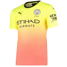 Manchester City Authentic Third Shirt 2019-20 with Wembley 20 printing