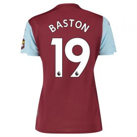 Aston Villa Home Shirt 2019-20 - Womens with Baston 19 printing