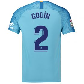 Atlético de Madrid Away Stadium Shirt 2018-19 with Godín 2 printing