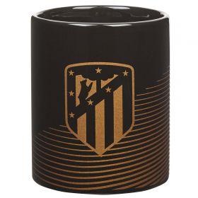 Atlético de Madrid Fade Mug - Black/Gold