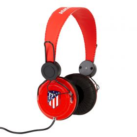 Atlético de Madrid Headphones - Red-Black
