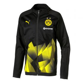 BVB Stadium Jacket - Black - Kids