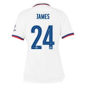Chelsea Away Cup Stadium Shirt 2019-20 - Womens with James 24 printing