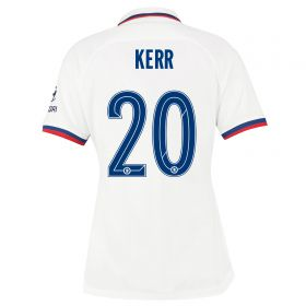 Chelsea Away Cup Stadium Shirt 2019-20 - Womens with Kerr 20 printing