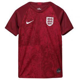 England Away Stadium Shirt 2019-20 - Kids with Moore 16 printing
