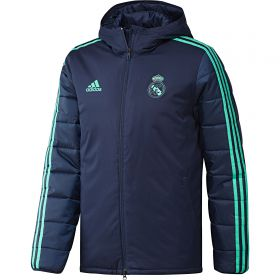 Real Madrid UCL Winter Jacket - Navy