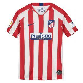Atlético de Madrid Home Stadium Shirt 2019-20 - Kids with Saúl 8 printing