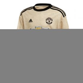 Manchester United Away Shirt 2019 - 20 - Kids - Long Sleeve with Wan-Bissaka 29 printing