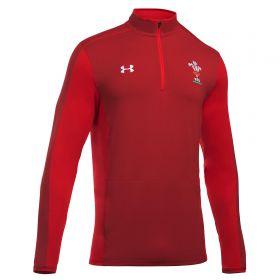 Wales 1/4 Zip Training Top - Daredevil Red