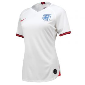 England Home Stadium Shirt 2019-20 - Women's with Scott 8 printing
