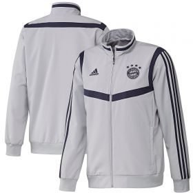 FC Bayern Pre Match Jacket - Grey