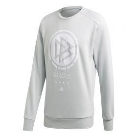 Germany SSP Crew Sweater - Grey