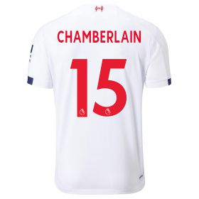 Liverpool Away Shirt 2019-20 - Kids with Chamberlain 15 printing