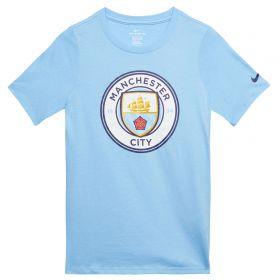 Manchester City Evergreen T-Shirt - Light Blue - Kids