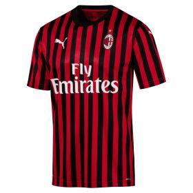 AC Milan Authentic Home Shirt 2019-20 with Ibrahimovic 21 printing