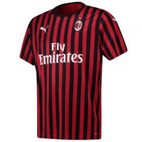 AC Milan Home Shirt 2019-20 with Ibrahimovic 21 printing