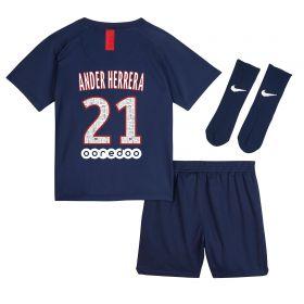 Paris Saint-Germain Home Stadium Kit 2019-20 - Infants with Ander Herrera 21 printing