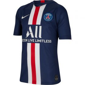 Paris Saint-Germain Home Stadium Shirt 2019-20 - Kids with Mbappé 7 printing