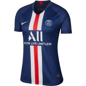 Paris Saint-Germain Home Stadium Shirt 2019-20 - Womens with Mbappé 7 printing