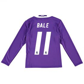 Real Madrid Away Jersey 2016/17 - Kids - Long sleeve -